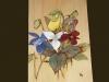Hand tint flowers